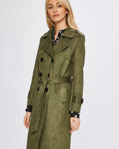 Утепленная куртка милитари прямая с поясом Answear