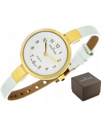 Biały klasyczny złoty zegarek Jordan Kerr