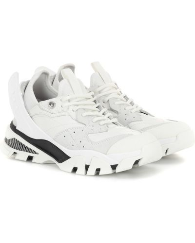 Кожаные кроссовки белый винтажные Calvin Klein 205w39nyc