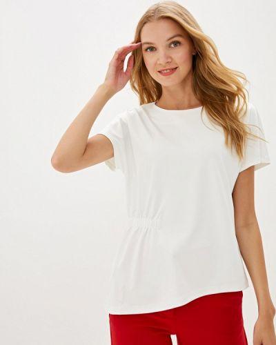 Блузка с коротким рукавом белая турецкий Madeleine