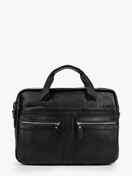 Кожаная черная кожаная сумка Barez