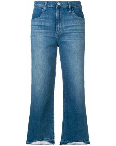 Прямые джинсы укороченные на пуговицах J Brand