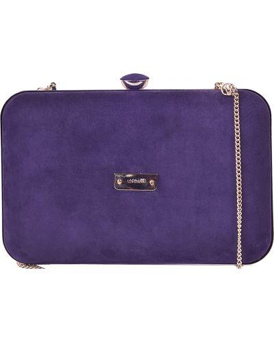 Текстильный клатч - фиолетовый Luis Onofre