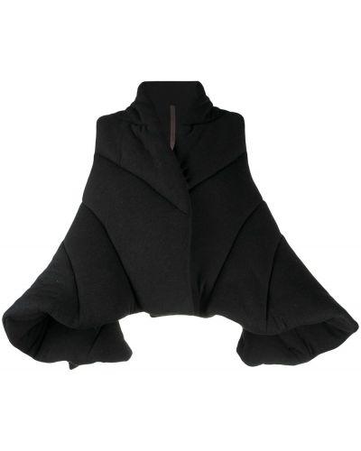 Черная куртка из ангоры Rick Owens Lilies