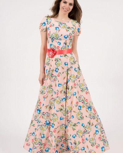 Розовое платье весеннее Olivegrey