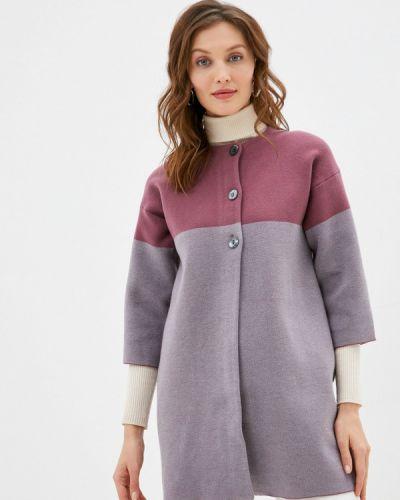 Пальто - розовое Stefanel