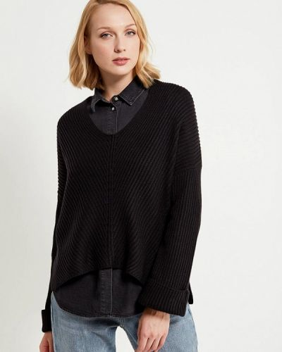 Черный пуловер 2018 Topshop