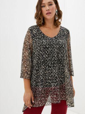 Бежевая блузка летняя Malena