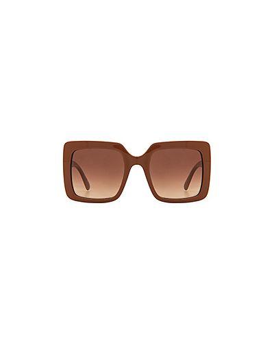 Солнцезащитные очки кожаные Stella Mccartney