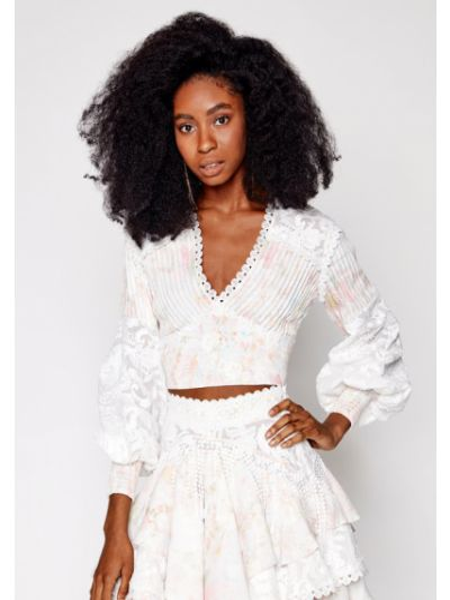 Biała bluzka Ixiah