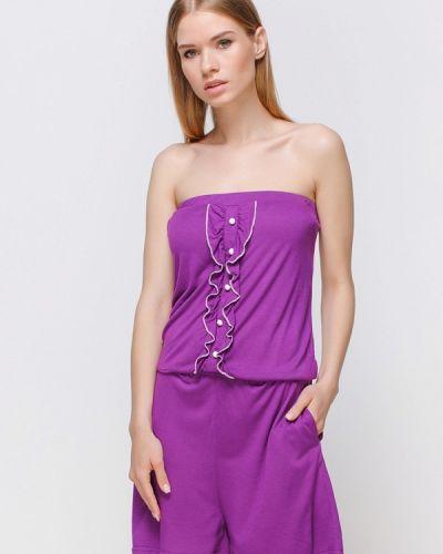 Фиолетовое пляжное платье Freya