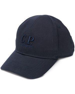 Czapka z logo ciemnoniebieski Cp Company Kids