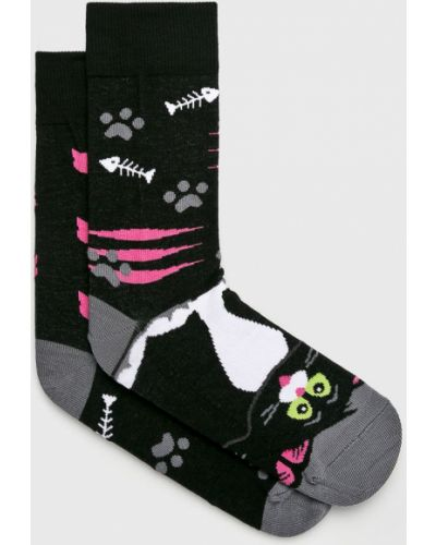 Хлопковые носки - черные Nanushki