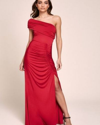 Облегающее платье макси на одно плечо Lipsy
