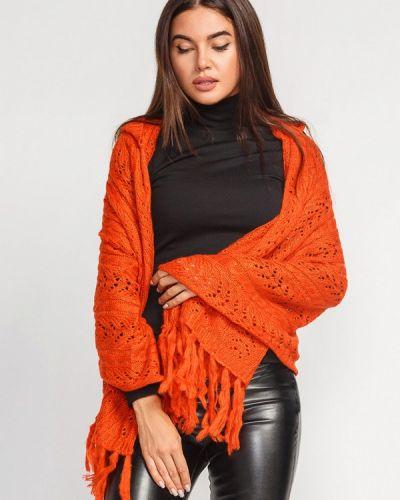 Оранжевая накидка Gepur