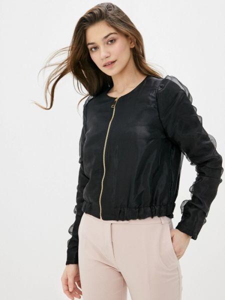 Куртка черная весенняя Rinascimento