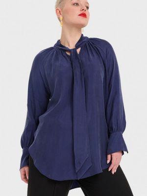 Блузка - синяя W&b
