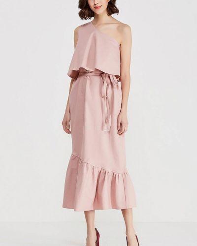 Прямое розовое платье Èssmy