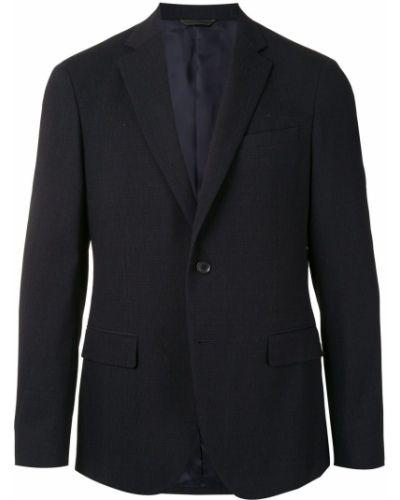 Однобортный черный пиджак на пуговицах с подкладкой D'urban