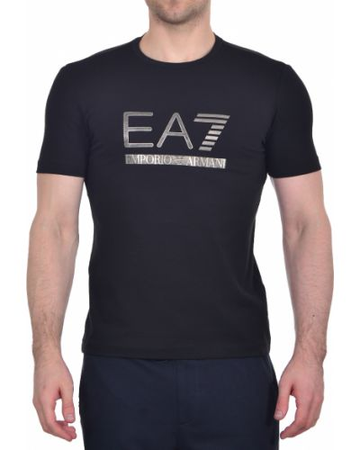 Футболка хлопковая Ea7 Emporio Armani
