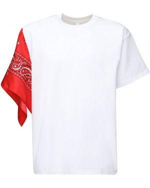 С рукавами белая рубашка оверсайз Ziq & Yoni