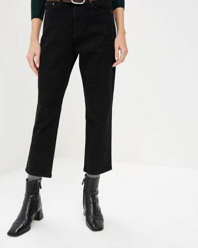 Черные прямые джинсы Topshop