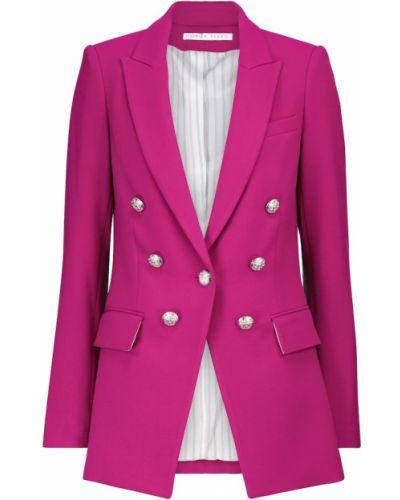Розовый пиджак из вискозы Veronica Beard