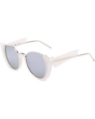 Белые солнцезащитные очки Prabal Gurung