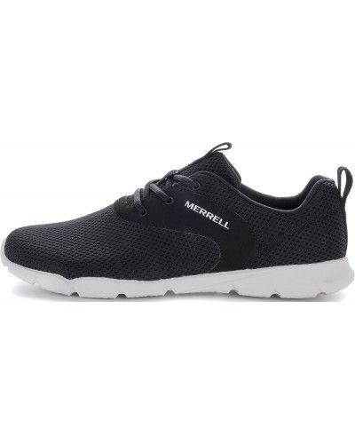 Кожаные полуботинки черные на шнурках Merrell