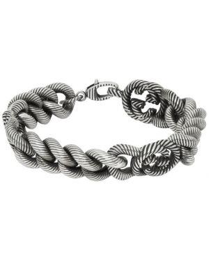 Браслет из серебра серебряный Gucci