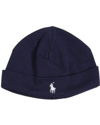 Bawełna bawełna kapelusz z haftem Ralph Lauren