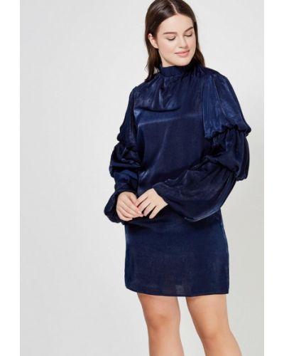 Синее вечернее платье Lost Ink.