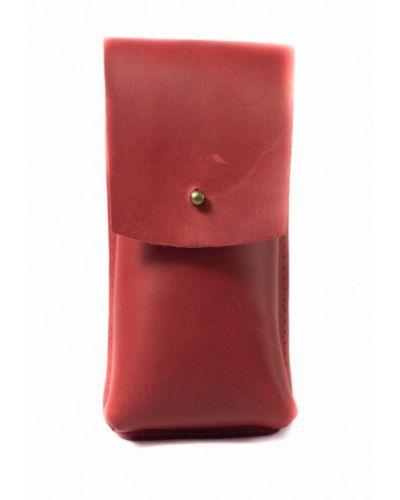 Красный футляр для очков Incarne