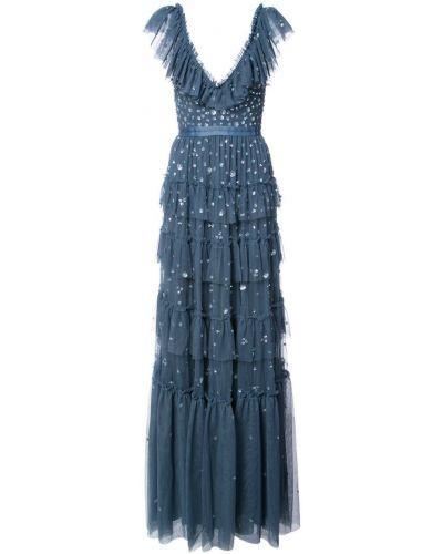 Вечернее платье с V-образным вырезом Needle & Thread