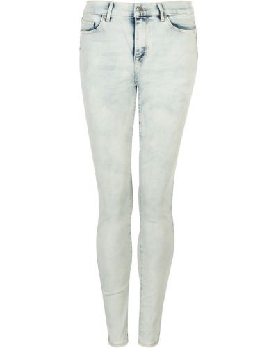 Szare jeansy skinny Juicy Couture