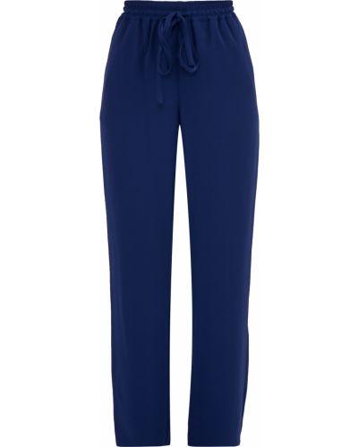 Свободные брюки со складками с поясом Michael Michael Kors