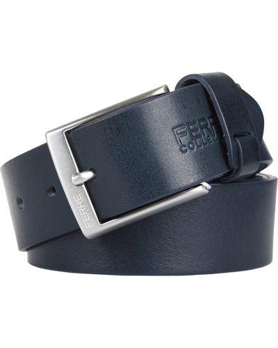 Кожаный ремень - синий Ferre Collezioni