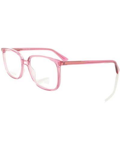 Różowe okulary Gucci