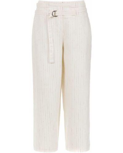 Укороченные брюки с нашивками с поясом Mara Mac