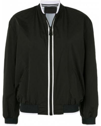 Черная куртка с манжетами Anteprima