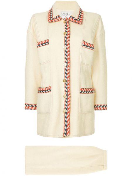 Dom garnitur długo kostium Chanel Pre-owned
