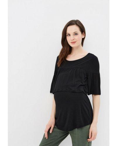 Черное поло Gap Maternity