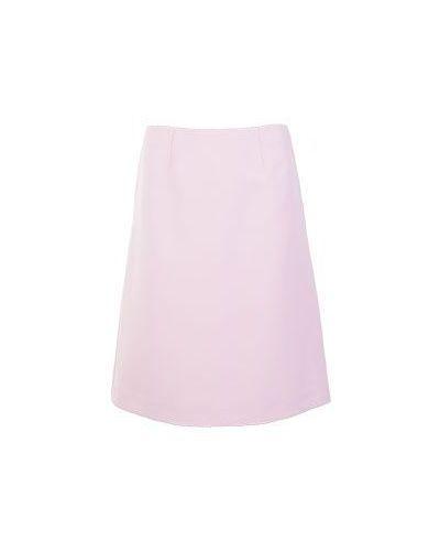 Розовая юбка миди Valentino Red