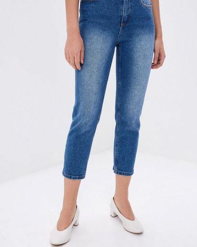 Прямые джинсы синие Zarina
