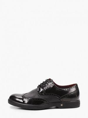 Черные весенние туфли El'rosso