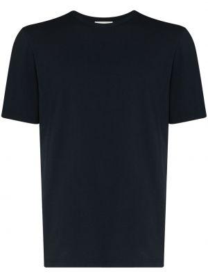 Хлопковая футболка - синяя Wood Wood