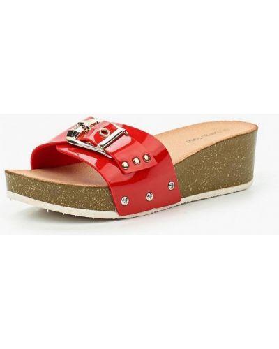 Сабо кожаные на каблуке Sergio Todzi