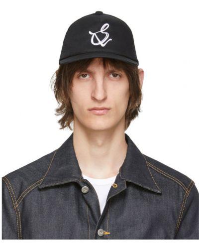 Czarna czapka z siateczką Sulvam