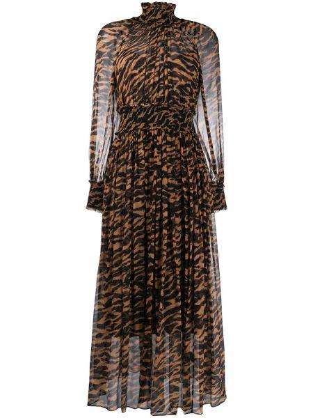 Платье миди облегающее с рукавами Zimmermann
