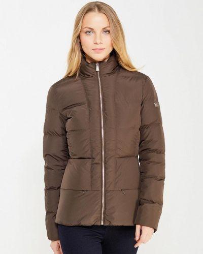 Зимняя куртка осенняя коричневая Trussardi Collection